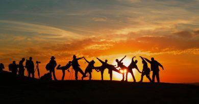 Des groupes de gens